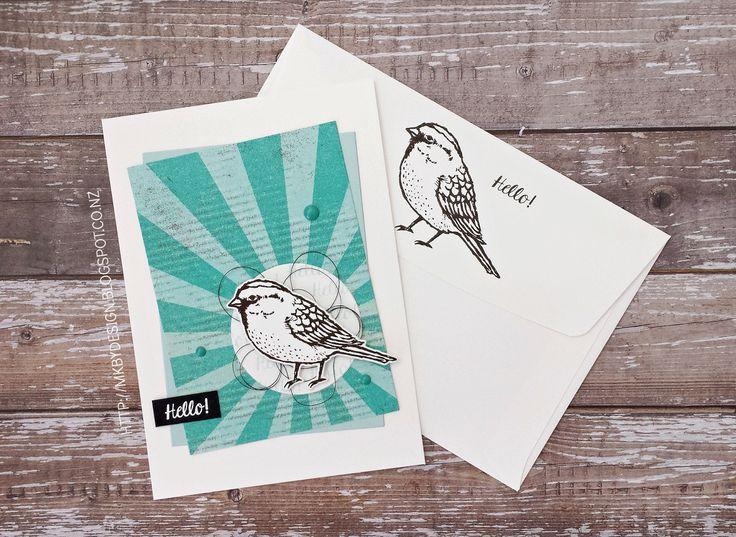 // MELISSA KAY BY DESIGN #GDP075 - BEST BIRDS STAMPIN' UP!