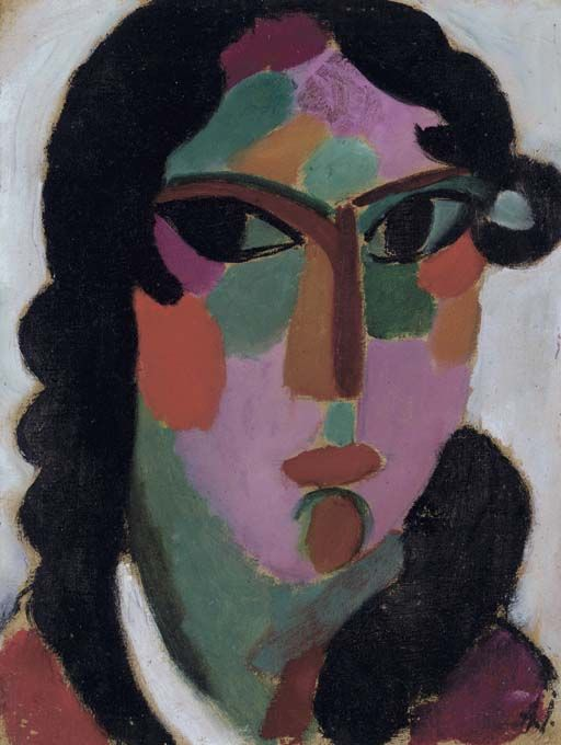the importance of color in the painting the girl with the green face by alexei jawlensky Find this pin and more on love art by harikas alexej von jawlensky ~ young girl with green eyes hign quality alexei jawlensky oil painting reproductions on.