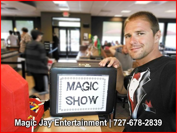 Family Reunion Entertainer HIRE Magic Jay. He is a professional entertainer/magician in Clearwater, FL… CALL (727) 678-2839 for bookings and inquiries!