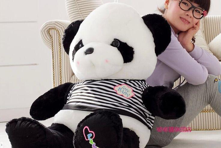70 см panda плюшевые игрушки свитер панда кукла Рождественский подарок w7012