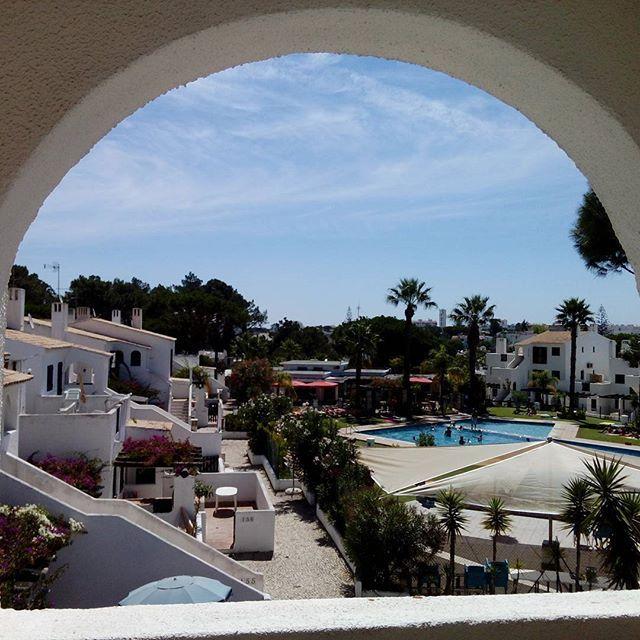 What a view.... #portugal #quarteira #algarve #feelingsummer #longweekend #viewfromawindow
