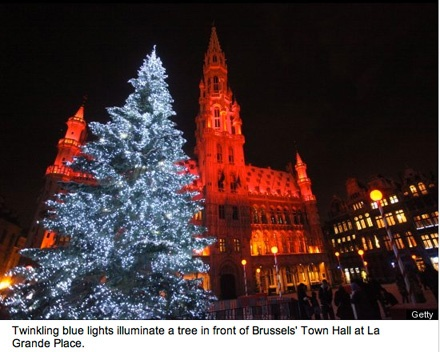 Belgium: Belgium Budgettravel, Holiday, Christmas Time, Around The Worlds, Christmas Lights, Place Belgium, Christmas Trees