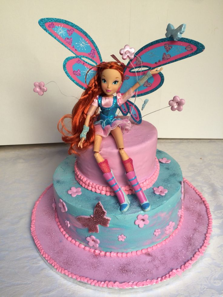 Cake Design Winx : 1000+ images about Winx on Pinterest Penguin cakes ...