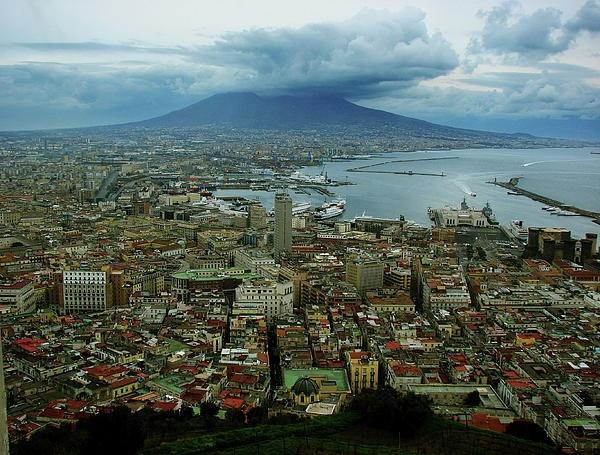 Mount Vesuvius, Naples Italy.