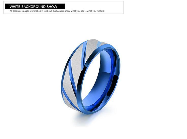 316L Stainless Steel Superman Finger Rings blue Men's titanium steel  blueornaments gj196   Read more at Bargain Paradise : http://www.nboempire.com/products/316l-stainless-steel-superman-finger-rings-blue-mens-titanium-steel-blueornaments-gj196/