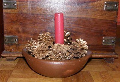 Pinyes de nadal: guarnicions nadalenques de la forma més natural #sortirambnens