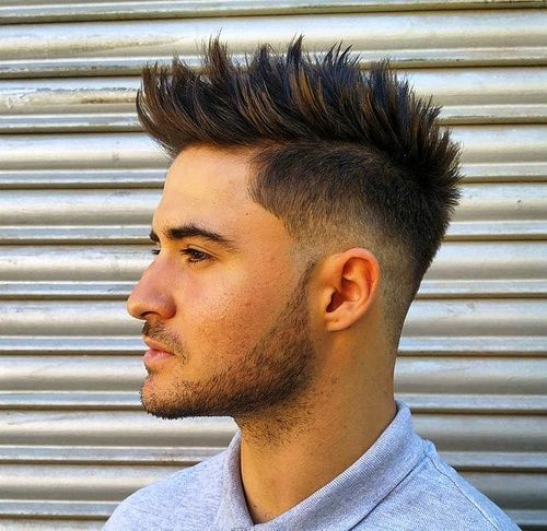 spiky+quiff+Mohawk+for+men