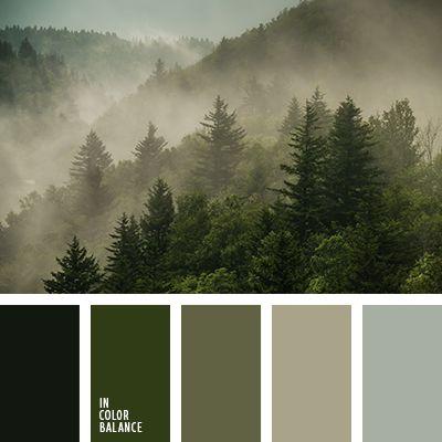 """""""пыльный"""" зеленый, зелено-коричневые тона, зелено-коричневый, зеленый цвет, оттенки зеленого, оттенки темно-зеленого, подбор цвета в интерьере, подбор цвета для гардероба, серо-зеленый, тёмно-зелёный, цвет ели."""