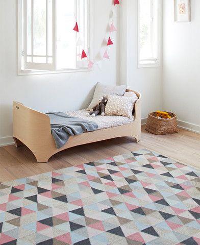 geometric rug floor rugs ballerinas kids bedroom little girls