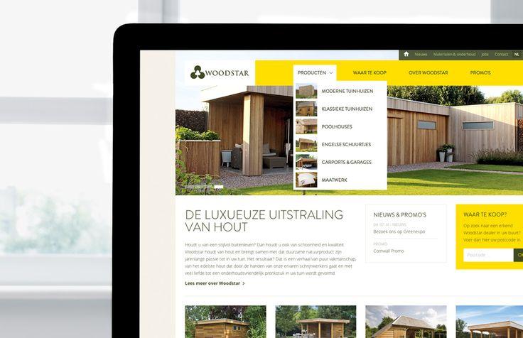 Woodstar - Responsive website | by Skinn Branding Agency