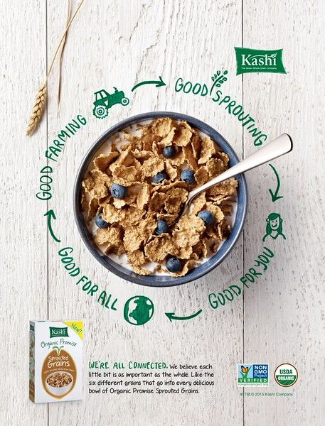 Kashi Organic Promise Cereal  Advertising