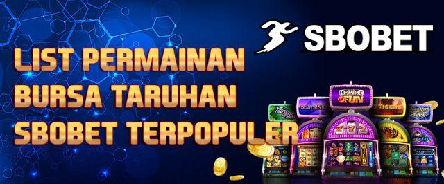 Bandar Sbobet Indonesia Terpercaya List Permainan Bursa Taruhan Sbobet Terpopuler Populer Kartu Playstation