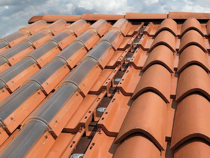 These roof tiles are the future in ecological house building.