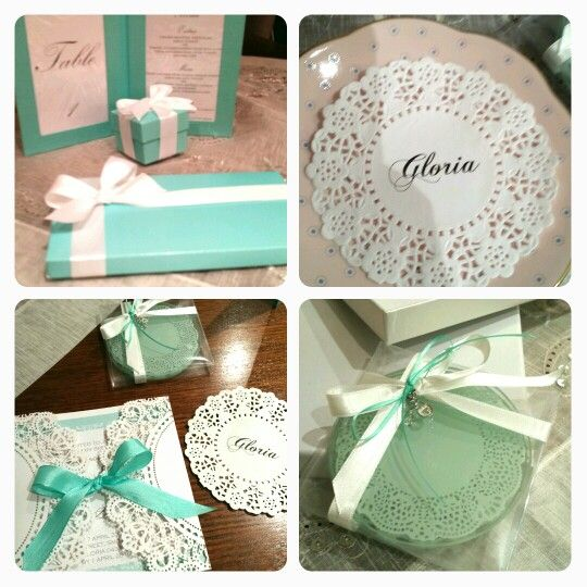 Tiffany Blue is beautiful and fresh colour to add to your wedding theme