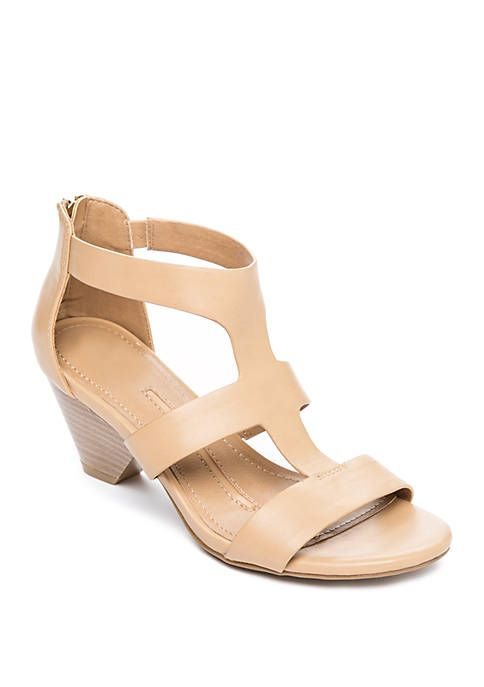 5f8e7cbee1c81 New Directions® Devinda Heeled Sandals in 2019 | Shoes/Sandals/Boots ...