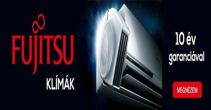 Fujitsu Inverteres klíma 10 év garancia http://klimastore.hu/-7/-60