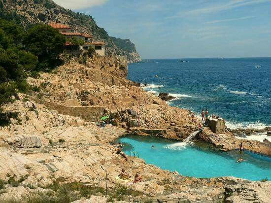 es cau begur costa brava beach cales pinterest