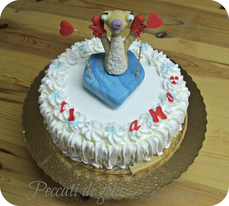 "Torta romantica ""L'Era glaciale ""..."