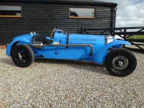 1966 D BUGATTI TYPE 59 BOAT TAIL EVOCATION STRAIGHT SIX ALUM For Sale