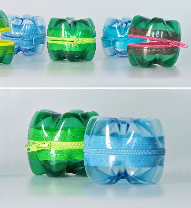 PET Bottle Purses | Community Post: 15 Creative Ways To Reuse Plastic Bottles