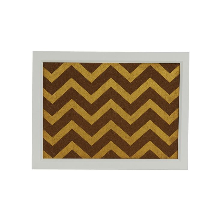 Chevron Cork Board Multicolored - Threshold,