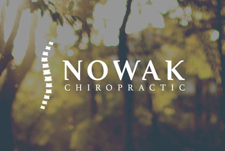 Logo for Nowak chiropractic