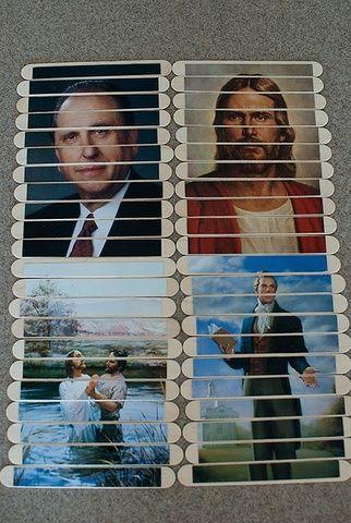 5 Fabulous Quiet Activities for Sacrament Meeting: #LDS Popsicle Puzzles #mormon