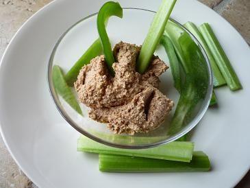 Vegetarian Paleo - Paleo Hummus - almonds
