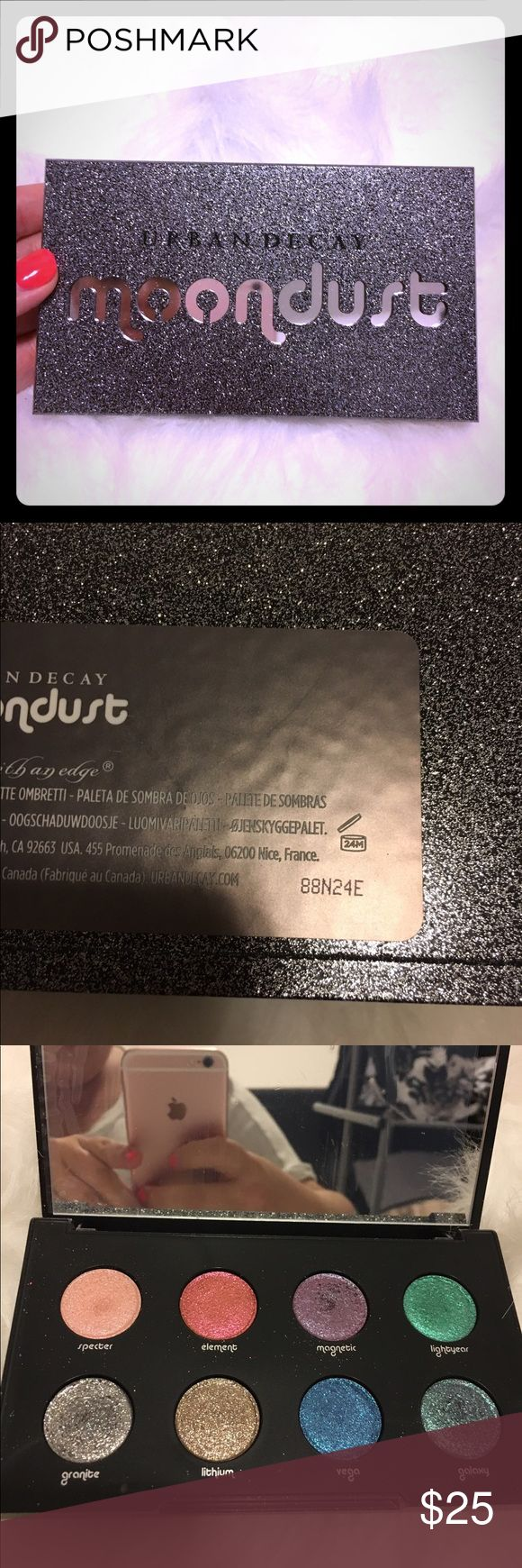 Urban Decay Moondust Palette Used once or twice, doesn't get used enough. In great condition. Urban Decay Makeup Eyeshadow