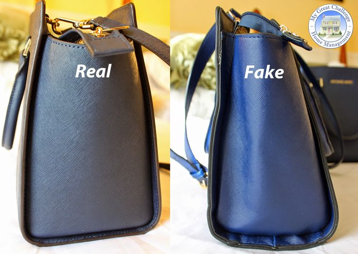 Michael Kors Selma - Fake VS. Real Comparison