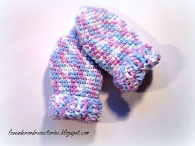 Jak zrobić rękawiczki niemowlęce na szydełku?