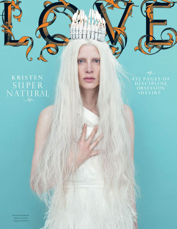 LOVE #6 Fall/Winter 2011 Covers by Mert & Marcus