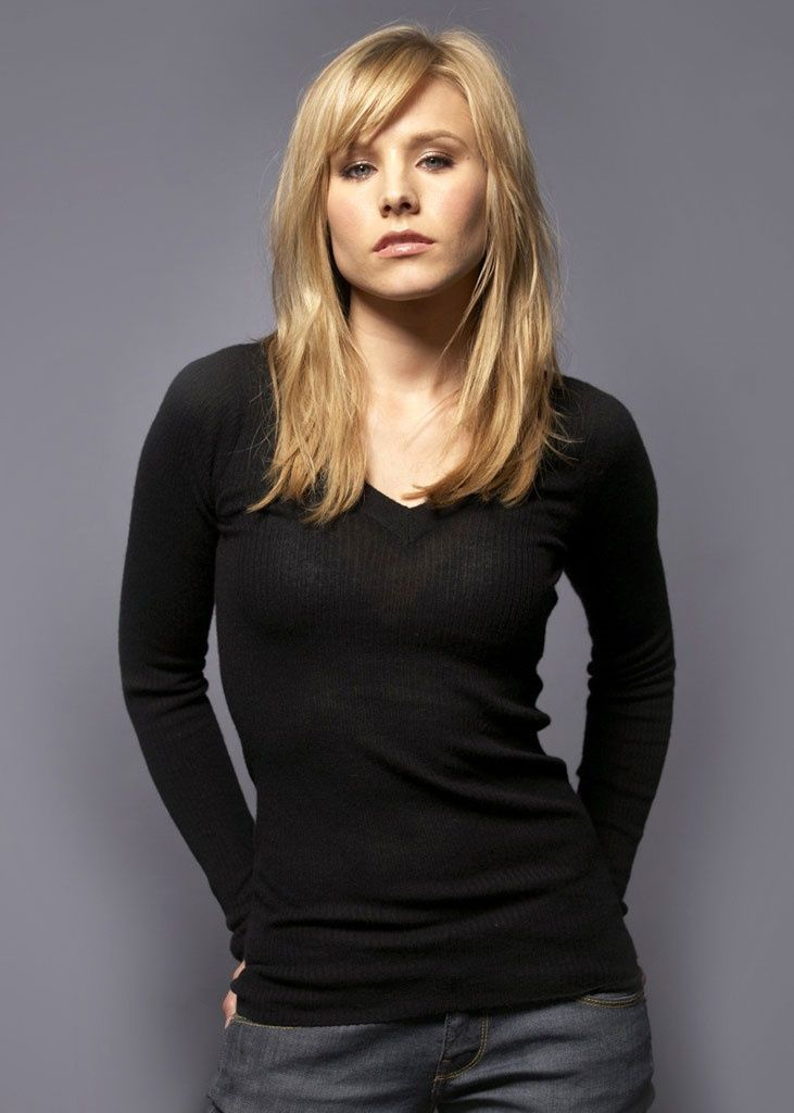kristen bell hair layered - Google Search