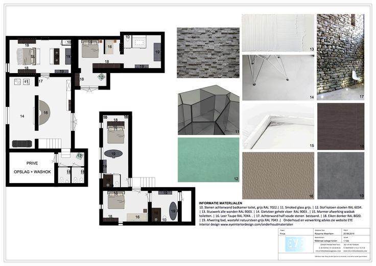 Project Finca Ibiza , materiaal voorstel - EYE INTERIOR DESIGN