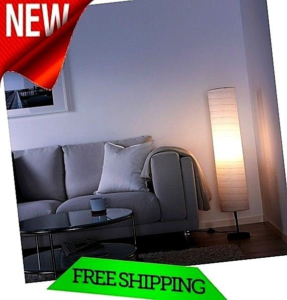 Modern Floor Lamp Asian style Home Decor Rice Paper Even living Room Lighting  #Ikea #Asian