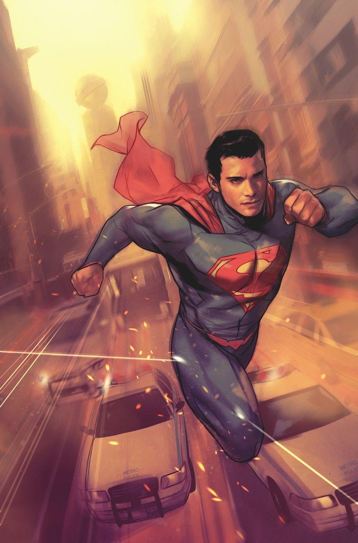 "iamgeekroom: "" Superman by Ben Oliver """