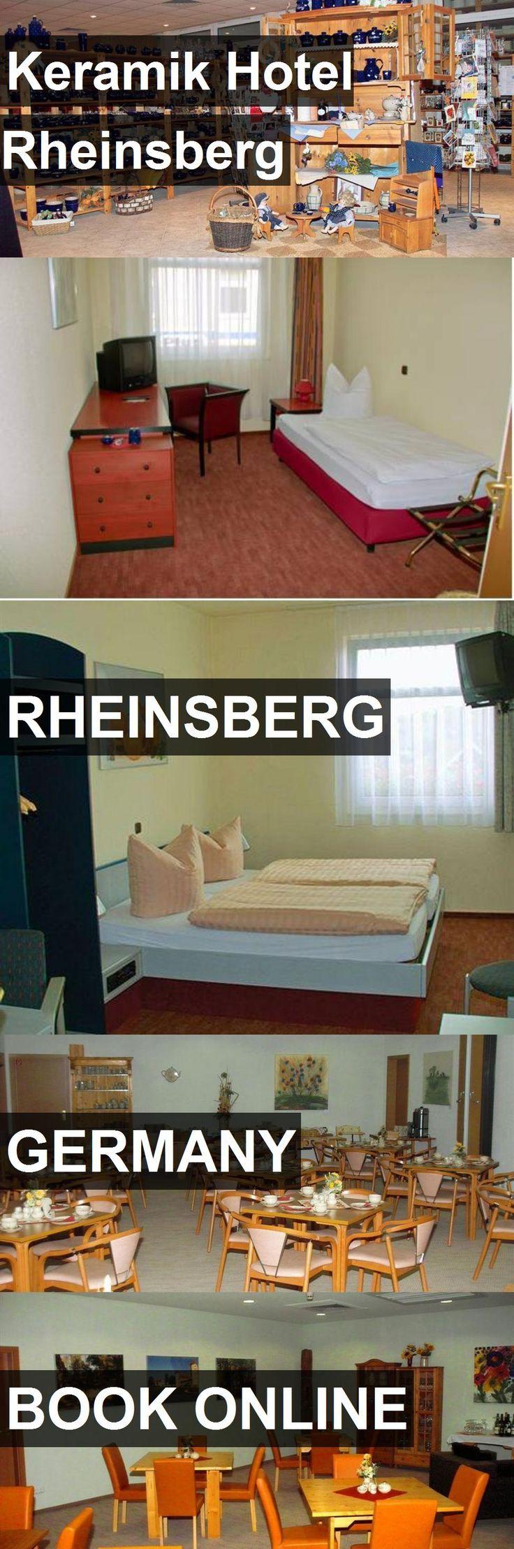 Keramik Hotel Rheinsberg in Rheinsberg, Germany. For more information, photos, reviews and best prices please follow the link. #Germany #Rheinsberg #travel #vacation #hotel
