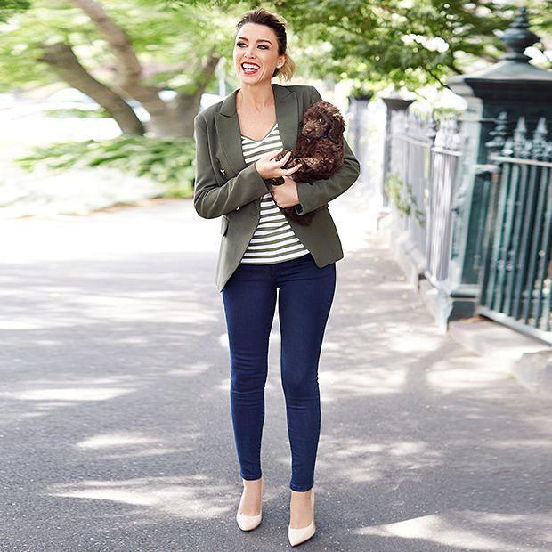 Dannii Minogue Petites High Waisted Skinny Jeans