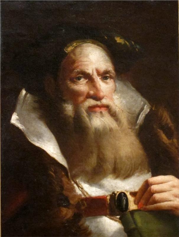 Portrait of an Oriental Philosopher,   Giovanni Domenico Tiepolo
