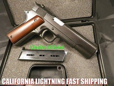 awesome NEW SP4 ITALY MOVIE PROP PISTOL REPLICA 1911 Hand Gun Training COLT 45 KIMBER - For Sale Check more at http://shipperscentral.com/wp/product/new-sp4-italy-movie-prop-pistol-replica-1911-hand-gun-training-colt-45-kimber-for-sale/