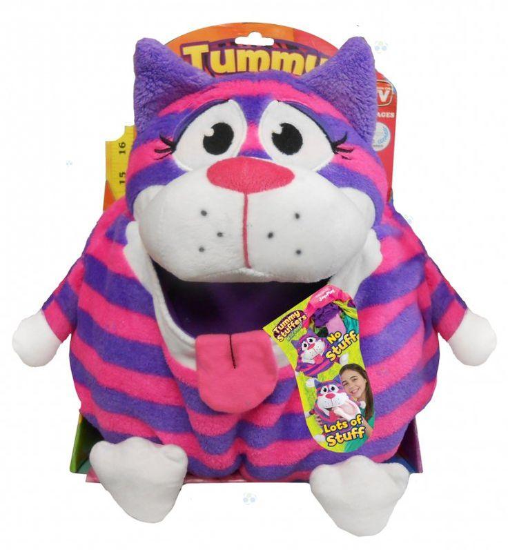 Maskotki z serii #TummyStuffers mogą służyć jako przenośne pojemniki na zabawki. Rozciągliwa kieszeń z przodu pełni funkcję schowka na ubrania, zabawki czy dziecięce skarby. #zabawki #dladziecka #dladzieci #sklepzzabawkami #prezenty #sklepdladzieci #maskotki #zabawkidladzieci