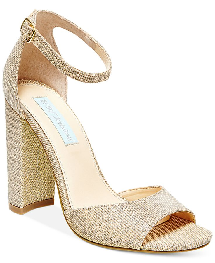 Ankle Strap Shoes Block Heel
