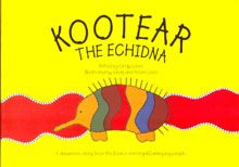 "Kootear the Echidna  Retold by Cindy Laws and illustrated by Cindy & Adam Laws.  A Dreamtime story from the Boorooberongal/Darkinjung People & dedicated to the memory of Uncle Charlie  ""When the dreaming had just begun, Baimai had made all the animals for the earth.  The animals had no coats and were all lined up waiting for Baimai for their turn at receiving something special.......""  PRICE:  $10.00 or 2 for $18.00 SET [2] [Wargan & Kootear] - $18.00"