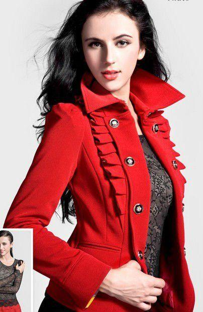 Modelos con abrigos