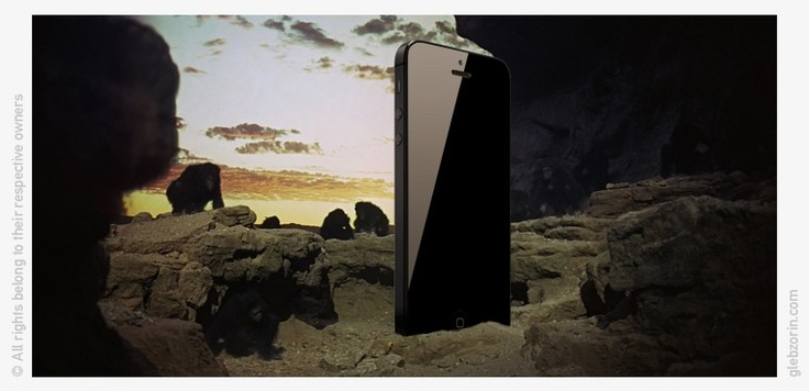 iPhone 5 2001 Space Odyssey (Stanley Kubrick) edition.