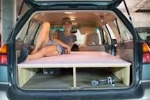 Subaru Outback with great storage description