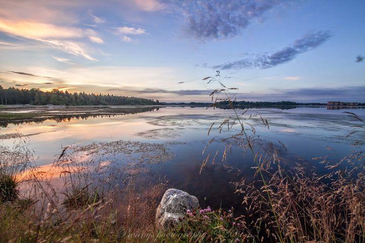 Sunset in Boden, Sweden. Photographer Benny Høynes