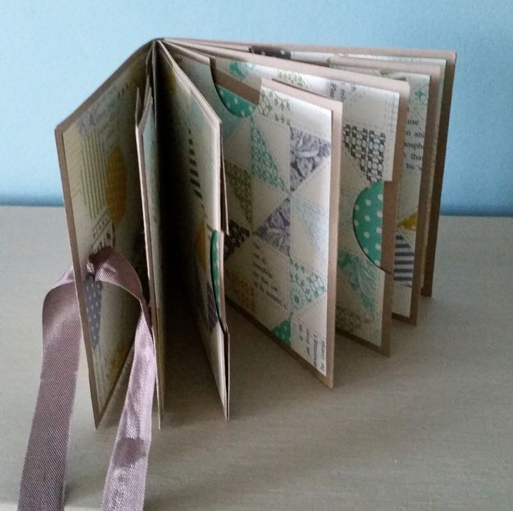 File Folder Mini Album