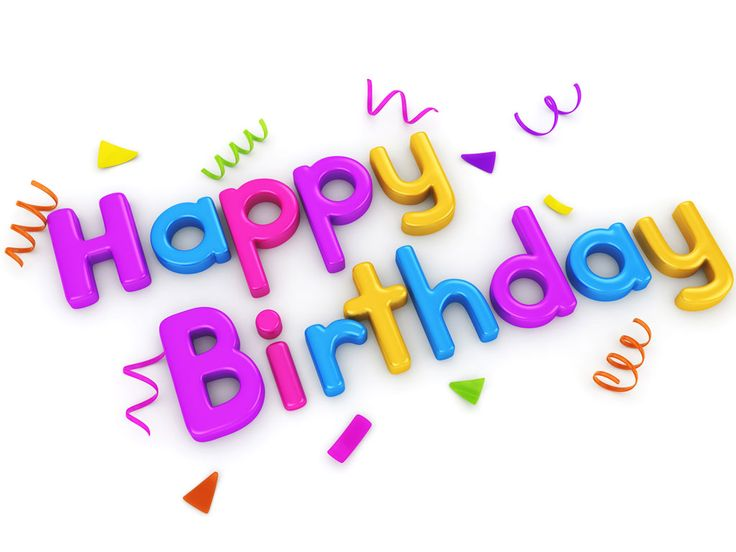 9 best pictures images on pinterest happy birthday - Feliz cumpleanos letras ...
