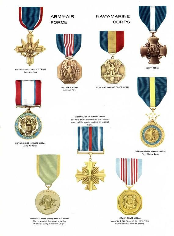 Custom Medals | Blog About Medals | Military decorations, Us